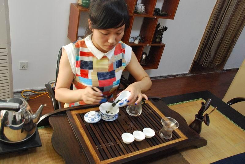 三套茶艺表演动作演示及教学