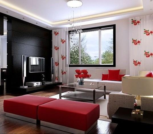 室内中式设计中常常追求同自然的和谐并能因地制宜;注重整体统一,秩序