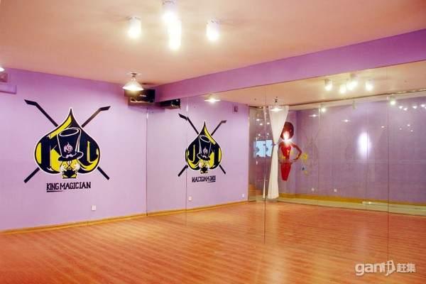 街舞舞蹈教室装修效果图