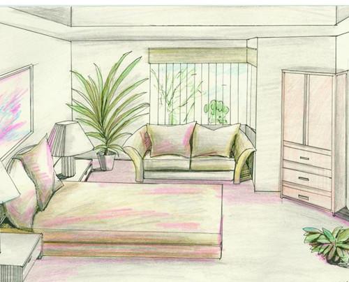 室内设计-手绘效果图soxsok